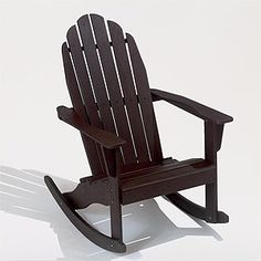Or maybe just get myself a rocking chair and get a stationary loveseat for the deck.