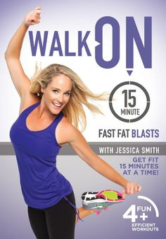 Work your abs, buns, thighs and more with these 15-minute workouts without it feeling like exercise with this fun walking video!   Walk On: 15-Minute Fast Fat Blasts