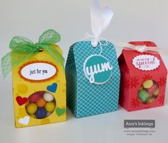 Bakers Box Thinlits Die, Stampin' Up!, Amy Whelan