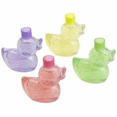 birthday favor?, Mini Duck Glitter Bubble Bath