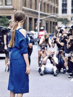 Kristina Bazan - SS16 New York Fashion Week