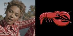 Red Lobster Responds to Beyonce's Shout Out in.: Red Lobster Responds to Beyonce's Shout Out in 'Formation'! Kick Off Football, Red Lobster, Illuminati, Shout Out, Gossip, Two By Two, Kicks, Beyonce Beyonce, Movie Posters