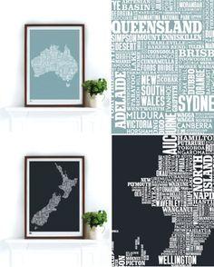 typography maps