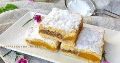 Krehučký koláč s úžasne jemnou chuťou vlašských orechov v kombinácií sviežej a šťavnatej chuti ovocia, ktorý máte hotový raz dva.   ... Cornbread, Vanilla Cake, Cheesecake, Baking, Ethnic Recipes, Desserts, Blog, Millet Bread, Tailgate Desserts