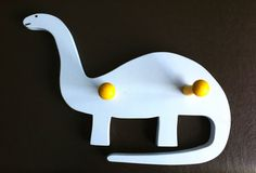Apatosaurus Clothes Hook by ThomasWoodcraft on Etsy