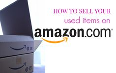how to sell used items on amazon