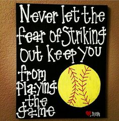 Softball rules!
