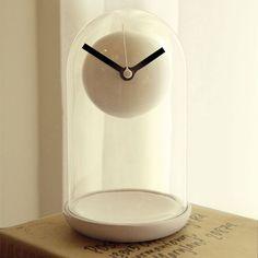 U+ Floating Table Clock #design #clock #horloge