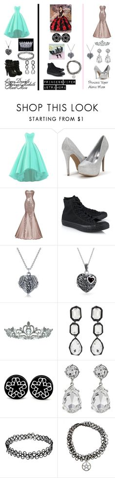 """Royal Presentation"" by dani-lehmiller on Polyvore featuring Abbey Dawn, Converse, Bling Jewelry, Kate Marie, AMBUSH, Kenneth Jay Lane and CO"