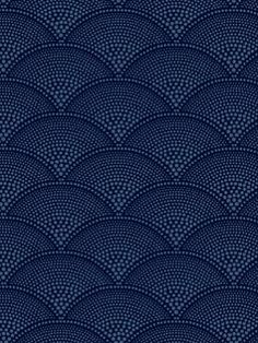 DecoratorsBest - Detail1 - CS 89/4019 - FEATHER FAN MIDNIGHT - Wallpaper - DecoratorsBest