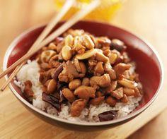 Kuracie prsia kung pao s ryžovým vínom