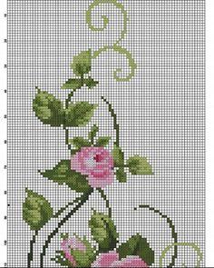 Cross Stitching, Cross Stitch Embroidery, Hand Embroidery, Cross Stitch Patterns, Embroidery Designs, Cross Stitch Pillow, Cross Stitch Rose, Cross Stitch Flowers, Baby Dress Patterns