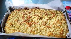 Drożdżowe bez zagniatania obowiązkowo ze 3 blachy Polish Desserts, Polish Recipes, Sweets Cake, Sweet Bread, Coffee Cake, Delicious Desserts, Food And Drink, Tasty, Favorite Recipes
