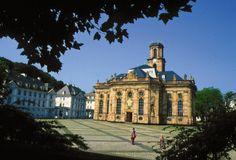 The Ludwigskirche, Saarbrucken, Germany
