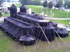 Tent design has come a long way.