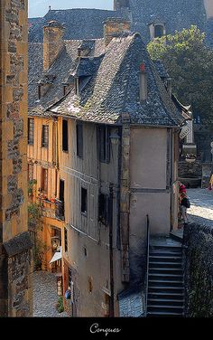 Conques, Midi-Pyrenees_ France