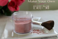 Save money and make your own homemade blush with this DIY blush recipe that's natural and non-toxic too!