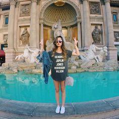 """""""Postei um guia completão de Las Vegas no blog dando dicas de hotel, restaurante, baladas, passeios, como economizar grana e contei quanto gastei pra…"""""""