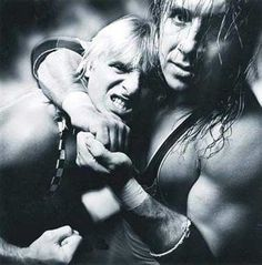 Bret Hart and Owen Hart. RIP Owen, you were and are great guys.