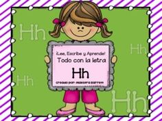 Ortografía y Palabras con Hh ¡Lee, Escribe y Aprende! -Tarjetas de Vocabulario a Color  -2 Artículos: Mi amiga H y Hernán y Héctor Cada uno incluye: 1)Preguntas de Comprensión 2)Completa las oraciones (Pegar o escribir)  -2 poemas con Hh -Escribe Oraciones con Hh -Busca palabras con Hh -Ordena Alfabéticamente las palabras con Hh - 2 hojas Separa las sílabas con las palabras de Hh -Sopa de letras con las palabras de Hh -MI diccionario ha, he, hi, ho, hu  -¡Haz contribuido a la educación de un…