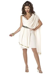 Perfect for Toga Parties, it's the stunning Deluxe Womens Toga Costume (01151)