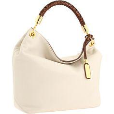 Michael Kors Skorios Large Shoulder Bag Hobo in white -- $625