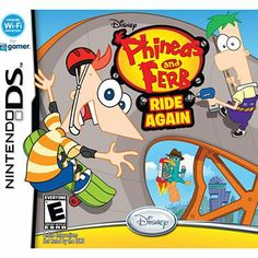 Nintendo® DS™ Phineas and Ferb Ride Again - jcpenney 20$
