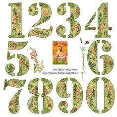 freubels-freebies: Numbers