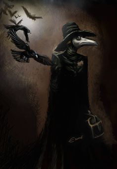 plague doctorre murder of crows