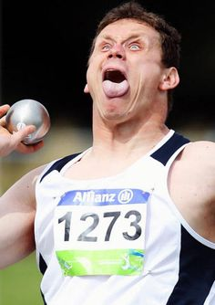 15 Olympians Making Derp Faces from Look What I Found Sports Pictures, Funny Pictures, Barbara Streisand, Funny Facial Expressions, Sports Fails, Shot Put, Wtf Face, Weird Face, Sports Humor