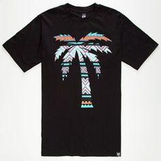 ade1bddf1067ad BLVD SUPPLY Native Tree Mens T-Shirt Surf Wear