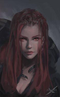 Oly Vipresang Vampire et ancienne mercenaires-tueuse à gage. Loue ses services aux PJ