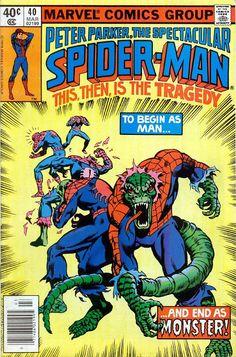Comic Book Critic - Google+ - Spectacular Spider-Man #40 (Mar '80) cover by Al Milgrom & Joe Rubinstein.