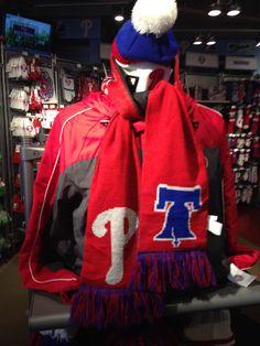 Phillies winter gear.