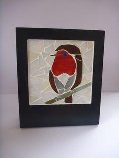 Robin mini mosaic picture