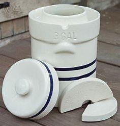 Ohio Stoneware Fermentation Crock