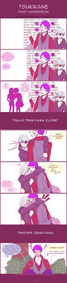 Tsukikane First Impression by natersal