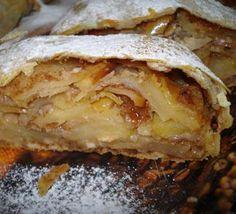 Яблочный штрудель, выпечка. Пошаговый рецепт с фото на Gastronom.ru