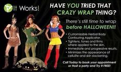 If you are like most of my friends you are already thinking about your Halloween costume! Can't quite wear what you want yet? Message me! Stephanielanier.myitworks.com  #halloween #sexycostume #vixen #showsomeskin