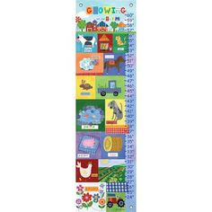 Oopsy Daisy Growing on the Farm Growth Chart