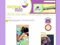 Identidade Visual + Blog - Escolhi ser Mãe || www.escolhisermae.com.br