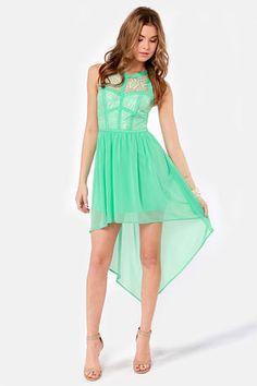 Green Summer Dresses Mint Dress