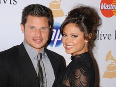 Entertainment and celebrity news, interviews, photos and videos from TODAY Celebrity Weddings, Celebrity News, Nick Lachey And Vanessa, Vanessa Minnillo, July 15, Cliff, Small Groups, Newlyweds, Style Icons