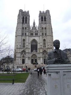 The Cathedral of St. Michael and Gudula,Brussels