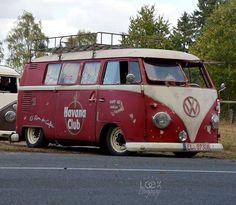 Kombi VW, KB #kombilovers #kombiantiga #aircooled #ratlook...