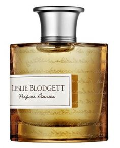 Leslie Blogdett: Perfume Diaries Bare Skin.  I really enjoy this unique fragrance.  It's spicy and warm.  Notes: black pepper, freesia, anise, iris, vanilla orchid, plumeria, patchouli, sandalwood, labdanum and musk.