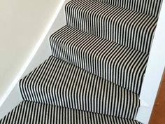 Image result for striped stair carpet