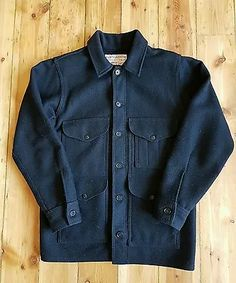 Filson classic jacket, the Mackinaw Cruiser. Sized as a 36 small, this is the regular fit version