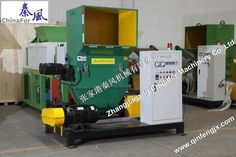 EPS hot melting plastic scrap recycling machine with CE certification
