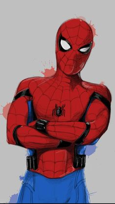 Spider Man Paint Art iPhone Wallpaper - iPhone Wallpapers